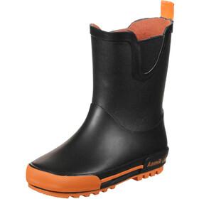 Kamik Rainplay rubberlaarzen Peuters, black/orange